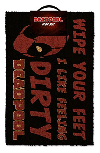 Pyramid International Door Mat Felpudo Marvel Deadpool