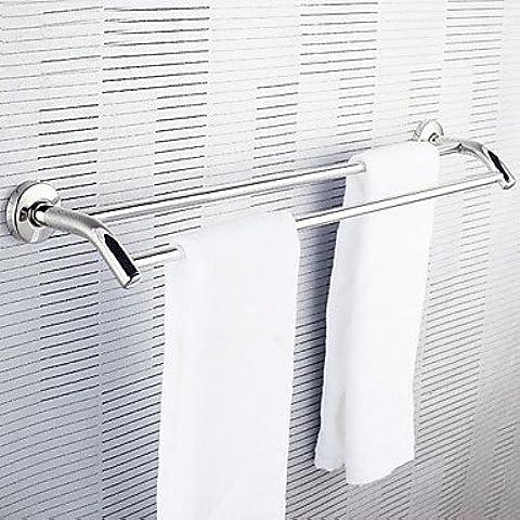 kai Acero inoxidable toalla doble de toallas Barra colgante toallero