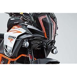 SW-Motech Soporte de Faro NSW.04.873.10000/B, Color Negro, KTM 1290Super Adventure S/R (a Partir de 2016)