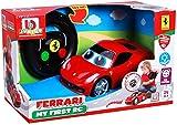 BB Junior My First RC: Ferngesteuertes Auto Ferrari 458 Italia ab 24 Monaten, mit Licht & Sound, inkl. Fernbedienung mit Bewegungssensor, rot (16-91003)