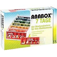 Preisvergleich für Anabox 7 Tage Regenbogen Tablettenbox, 1 St.