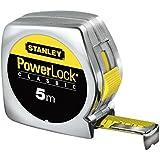 Stanley 0-33-194 Mesure 5 m x 19 mm Powerlock Classique ABS