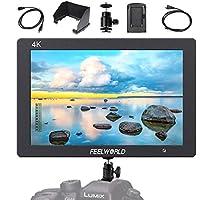 "Feelworld T7 Monitor DSLR Cámara Réflex LCD, 7""Full HD HDMI 4K para Cámaras DSLR, Kit de Batería F550 Incluido"