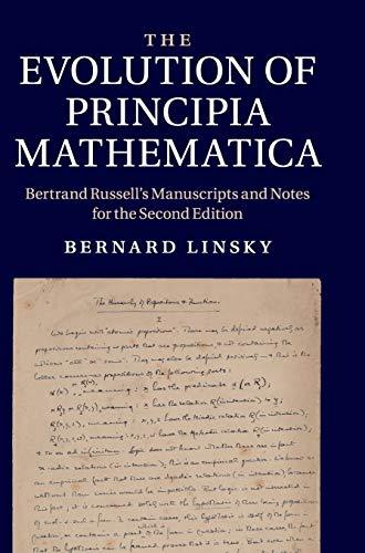 The Evolution of Principia Mathematica Hardback