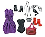 Barbie Collector Exclusive Star Doll Moden W2208 - Fallen Angel - 2 Outfits und viel Zubehör