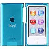 Slim Housse Coque Etui Snap-in Protection Case Pour APPLE iPod 7 gen Nano, Bleu Transparent