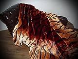 Kuscheldecke Tagesdecke Decke Tiger - Look 160x200cm