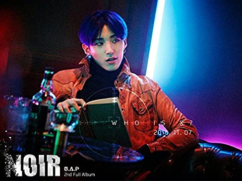 B.A.P-[NOIR] 2nd Album Limited Edition MOON JONG UP Ver. CD+Photobook+PhotoCard+Poster