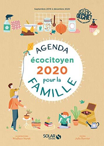 Agenda écocitoyen 2020 pour la famille par Julie Bernier
