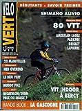 VELO VERT [No 55] du 01/04/1995 - SHIMANO ALIVIO - 80 VTT - AMERICAN EAGLE - PARKPRE...