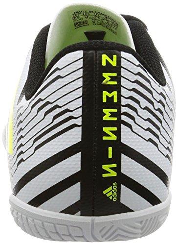 adidas Unisex-Kinder Nemeziz 17.4 in Fußballschuhe Weiß (Footwear White/solar Yellow/core Black)
