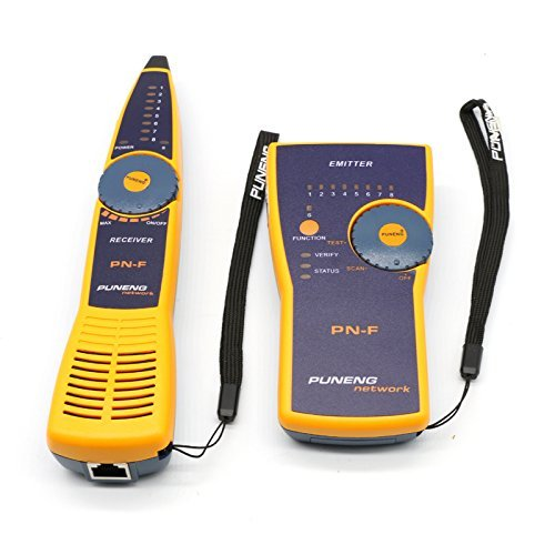 Preisvergleich Produktbild mekarsoo MF Multifunktions Netzwerk Kabel Tester Telefon Line Tracker Detektor RJ45RJ11BNC Linie Finder Tracer Netzwerke Tools–Gelb