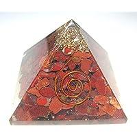 Roter Jaspis–– Orgonit Pyramide, Feng Shui, Heim, Büro, Wellness Positive Energie, metaphysisch Health, Wealth... preisvergleich bei billige-tabletten.eu