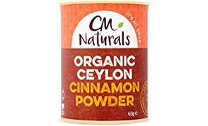 CM Naturals Organic Ceylon Cinnamon Powder 60g (Case of 12)