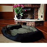"""PetsMaker"""" Deluxe Pet Bed For Dogs And Cats Velvet Ultra-Soft Plush Solid Pet Sleepeer -XXXL - B07C19Y2S7"""