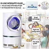 Lampe anti-moustiques - Pièges à insectes 5W Matamoscas / Mata Mosquitoes Électrique pour protéger les enfants, tue les insectes avec une lampe LED ultraviolette USB 368NM, sans produits chimiques