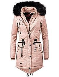 Marikoo Damen Winter Mantel Winterparka Rose (vegan hergestellt) 8 Farben XS -XXL 5da5e2a6bb