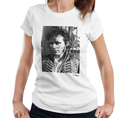 Shirt Charming Prince (Richard Mann Official Photography - Adam Ant Prince Charming Close Up Women's T-Shirt)