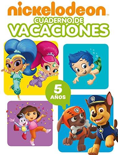 Nickelodeon. Cuaderno de vacaciones - 5 años (Cuadernos de vacaciones de Nickelodeon)