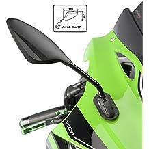 Espejo Retrovisor Puig RS2 Yamaha FZ6 Fazer S2 07-10 (pareja) negro