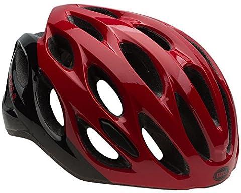 Bell Draft Helmet - Red/Black Repose, Unisize