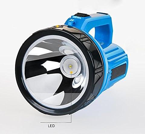 GJY LED TASCHENLAMPEWiederaufladbare Licht Taschenlampe Fern-Suchscheinwerfer Portable Licht Hause Im Freien Led Große Taschenlampe Langstrecken-Super Hell