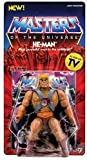 The original MOTU action figures re-imagined to match the character designs from the animated cartoon!\n\nThese new carded Vintage Figures come with their own accessories: He-Man w/ Power Sword, Half-Sword, and Shield, Skeletor w/ Havoc Staff, Power ...
