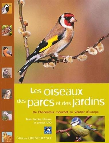 Les oiseaux des parcs et des jardins : De l'Accenteur mouchet au Verdier d'Europe par Nicolas Macaire, Collectif