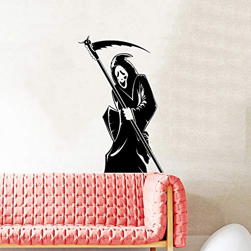 fkleber Halloween Party Supplies Sickle Wizard Aufkleber für Wandtattoo Halloween Kostüme für Frauen ()