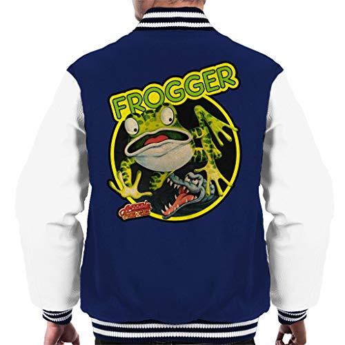 Cloud City 7 Frogger Arcade Game Series Artwork Men's Varsity Jacket -