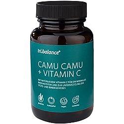 tri.balance Camu Camu + Vitamin C (1 x 60 Stück), Kombination aus Vitaminen und Superfoods für ein starkes Immunsystem