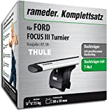 Rameder Komplettsatz, Dachträger WingBar für Ford Focus III Turnier (114566-09157-1)