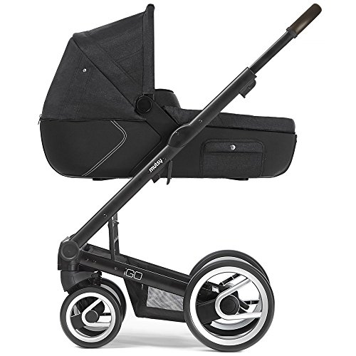 Mutsy Kinderwagen IGO - Reflect dark grey / black - Modell 2016