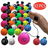Makro-Riese 2,8 Zoll (Durchmesser) Schaumstoff-Rückprall-Ball, Satz von 24, Baseball, Rückgabekugel, Easy Sports, Kinderspielzeug, Werbegeschenk, Aktionsmaterial
