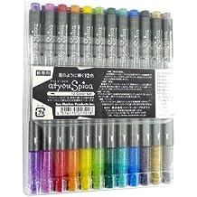 COPIC Glitter Pen Color-Set, 12er Kunststoffetui