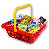 Christian Tanner 1057.2 - Cesta de plástico para ir a la compra con artículos de supermercado [importado de Alemania]