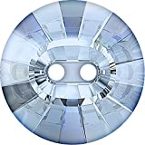 Swarovski Kristall Knopf Elements Rivoli 16.0mm (Crystal-Blue Shade, Restposten), 4 Stück