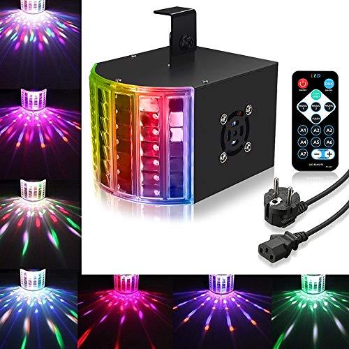 LED PAR Licht SOLMORE Disco Lichteffekte LED DJ Licht PA Licht Stroboskop RGB 3 Modus DMX Controller Projektor Partybeleuchtung Disco Effekt...