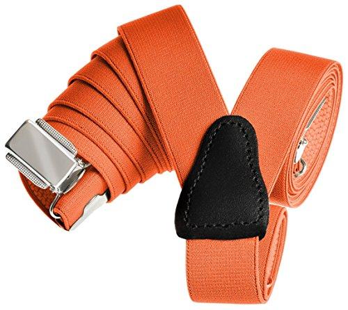 ren Hosenträger (Orange) (Nerd Outfits Für Männer)