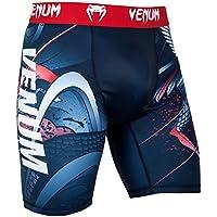 Venum Rooster Pantalones Cortos de Compresión, Hombre, Azul Marino/Rojo, XL