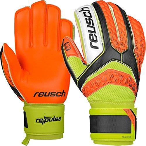 Guanti Portiere Calcio REUSCH Re:Pulse Repulse SG Extra Shocking Orange Palmo Colour Attack! (9)