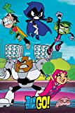 "GB eye 61 x 91.5 cm ""Cast"" Teen Titans Go Maxi Poster, Multi-Colour"