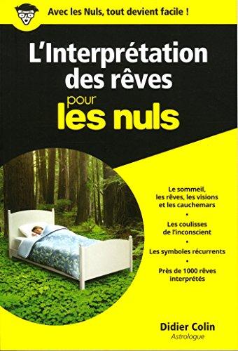 L'Interprétation des rêves pour les Nuls poche par Didier COLIN