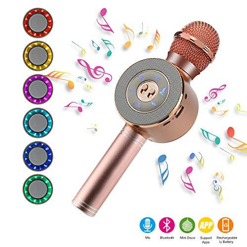 NEXGADGET Micrófono Karaoke Bluetooth,...