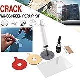 Gadget Zone UK Auto Crack Windschutzscheibe Reparatur Kit Premium & DIY CHIP Windschutzscheibe Glas Wind Bildschir