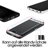 G-Color Galaxy S7 Edge Schutzfolie (2Stück), (Blasenfreie)[Mit Hülle][Einfache Anzubringen](TPU Schutzfolie Nicht Glasfolie) für Galaxy S7 Edge Schutzfolie Test