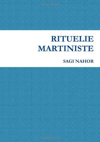Rituelie Martiniste par Sagi Nahor