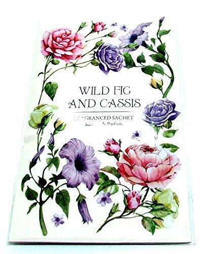 Parfume-pour-garde-robe-Double-sachet-parfum-en-Wild-Fig-Cassis