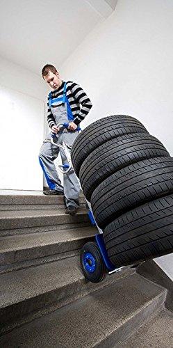 Diable électrique monte escalier à prise ergonomique - Charge 140kg