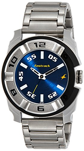 Fastrack Analog Blue Dial Men's Watch-3150KM01
